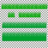 Χλόη, θάμνοι Ένα σύνολο διάφορων τύπων χλοών Σύνολο χλόης σε ένα διαφανές υπόβαθρο Στοκ φωτογραφία με δικαίωμα ελεύθερης χρήσης