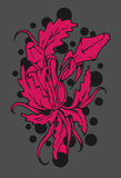 Χλόη και περίληψη λουλουδιών Στοκ Εικόνες