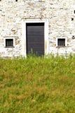 Χλόη κλειστή arsago ξύλινη Ιταλία Λομβαρδία Στοκ Φωτογραφίες
