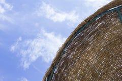 Ψάθινη ομπρέλα Στοκ φωτογραφίες με δικαίωμα ελεύθερης χρήσης