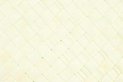 Ψάθινη σύσταση καλαθιών κρέμας Στοκ Εικόνες