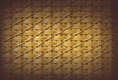 Ψάθινη σύσταση καλαθοπλεχτικής Στοκ εικόνα με δικαίωμα ελεύθερης χρήσης