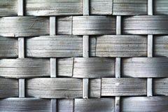 Ψάθινη σύσταση ύφανσης καλαθιών Στοκ Εικόνα