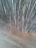 Ψάθινος φράκτης Στοκ φωτογραφία με δικαίωμα ελεύθερης χρήσης