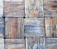 Ψάθινο καλάθι στενό Στοκ Εικόνες
