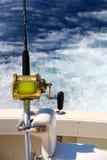 Ψάρεμα για το μεγάλο παιχνίδι Στοκ εικόνες με δικαίωμα ελεύθερης χρήσης