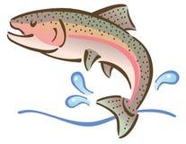 Ψάρια άλματος Στοκ φωτογραφία με δικαίωμα ελεύθερης χρήσης