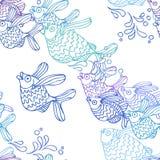 Ψάρια άλματος Ελεύθερη απεικόνιση δικαιώματος
