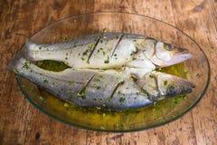 Ψάρια για το μεσημεριανό γεύμα Στοκ Φωτογραφίες