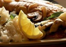 ψάρια εισόδων Στοκ εικόνες με δικαίωμα ελεύθερης χρήσης