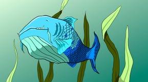 ψάρια ευτυχή Στοκ φωτογραφία με δικαίωμα ελεύθερης χρήσης