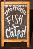 Ψάρια και τσιπ του Λονδίνου στοκ εικόνα με δικαίωμα ελεύθερης χρήσης