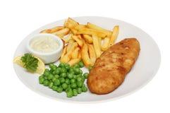 Ψάρια και τσιπ στοκ φωτογραφία με δικαίωμα ελεύθερης χρήσης