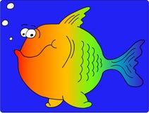 ψάρια κινούμενων σχεδίων Στοκ Εικόνα