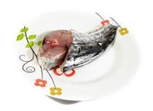 Ψάρια κρέατος σκουμπριών Στοκ εικόνα με δικαίωμα ελεύθερης χρήσης