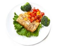 ψάρια λωρίδων saute στοκ εικόνες με δικαίωμα ελεύθερης χρήσης
