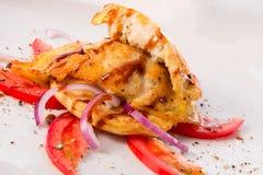 Ψάρια με τη σάλτσα σόγιας Στοκ Εικόνα
