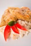Ψάρια με τη σάλτσα σόγιας Στοκ εικόνα με δικαίωμα ελεύθερης χρήσης
