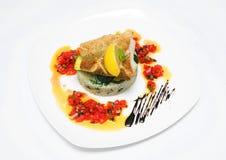 Ψάρια με το ρύζι Στοκ εικόνες με δικαίωμα ελεύθερης χρήσης