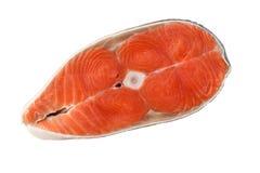 Ψάρια μπριζόλας σολομών Στοκ φωτογραφία με δικαίωμα ελεύθερης χρήσης