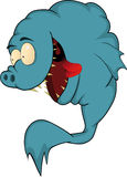 ψάρια πεινασμένα πολύ Στοκ Εικόνες