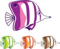 Ψάρια πεταλούδων απεικόνιση αποθεμάτων