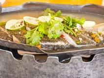 ψάρια που βράζουν στον ατ&mu Στοκ εικόνες με δικαίωμα ελεύθερης χρήσης