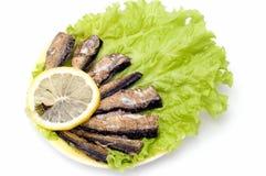 ψάρια που καπνίζονται στοκ φωτογραφία με δικαίωμα ελεύθερης χρήσης