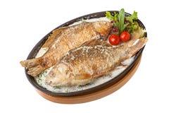 ψάρια που ψήνονται στοκ εικόνες με δικαίωμα ελεύθερης χρήσης
