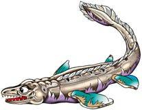 ψάρια προϊστορικά Στοκ φωτογραφία με δικαίωμα ελεύθερης χρήσης