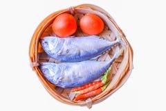 Ψάρια στο καλάθι Στοκ Εικόνες