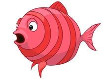 ψάρια χαρακτήρα κινουμένων σχεδίων Στοκ εικόνα με δικαίωμα ελεύθερης χρήσης
