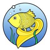 ψάρια χρυσά Στοκ εικόνες με δικαίωμα ελεύθερης χρήσης