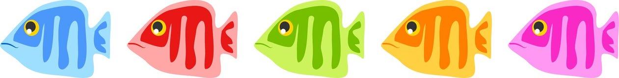 ψάρια διανυσματική απεικόνιση