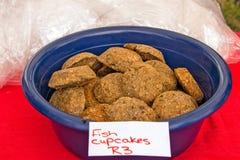Ψάρια Cupcakes Στοκ Φωτογραφίες