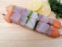 Ψάρια Kebabs στοκ φωτογραφία με δικαίωμα ελεύθερης χρήσης