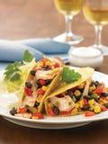Ψάρια Tacos Στοκ Εικόνα