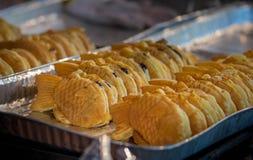 Ψάρι-διαμορφωμένα γλυκά στην Ιαπωνία στοκ εικόνες
