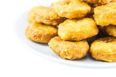 Ψήγματα κοτόπουλου Στοκ Φωτογραφίες