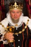 Ψήσιμο βασιλιάδων με το κρασί Στοκ Φωτογραφία