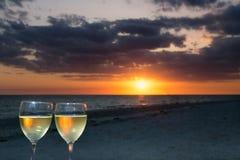 Ψήσιμο ενός ηλιοβασιλέματος Sanibel Στοκ Φωτογραφίες