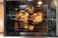 ψήσιμο φούρνων κοτόπουλο Στοκ Φωτογραφίες