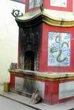 ψήστε το κινεζικό τελετουργικό στοκ φωτογραφίες