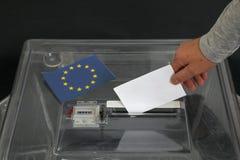 Ψήφος για τις εκλογές στοκ φωτογραφίες
