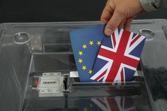 Ψήφος για τις εκλογές στοκ εικόνα