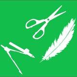 ψαλίδι φτερών πυξίδων Στοκ Φωτογραφία