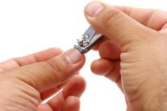 ψαλιδίζοντας νύχια Στοκ φωτογραφία με δικαίωμα ελεύθερης χρήσης