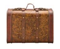 ψαλιδίζοντας παλαιά βαλίτσα μονοπατιών Στοκ Εικόνα