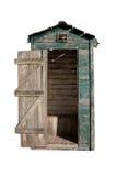 ψαλιδίζοντας παλαιό outhouse μ&omicron στοκ εικόνα με δικαίωμα ελεύθερης χρήσης
