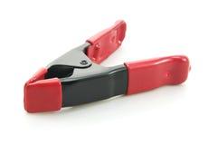 ψαλιδίστε τον κόκκινο χάλυβα χρώματος στοκ εικόνες με δικαίωμα ελεύθερης χρήσης